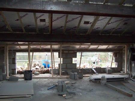 Replacing upstairs windows