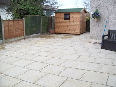 Garden Conversion in Burnley