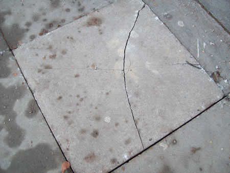 Paving flag replacement