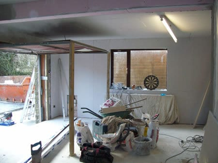 Garage Conversion in Burnley