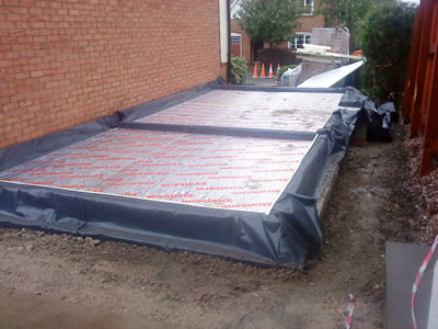 Groundworks for House Extension