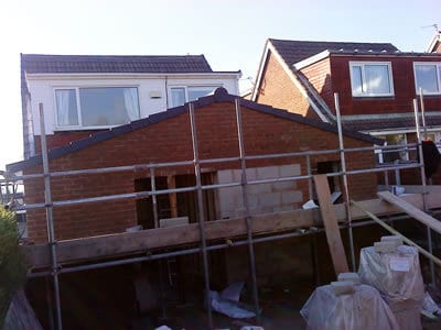 Single Storey Extension using Existing Conservatory