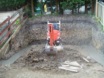Garden Restructure with Retaining Walls