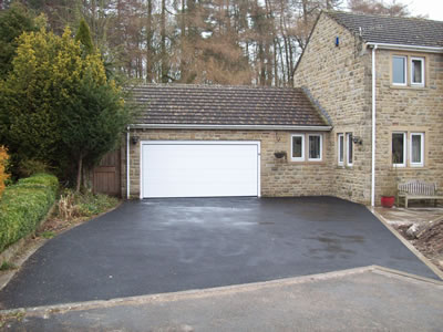 Completed Tarmac Driveway Extension Project
