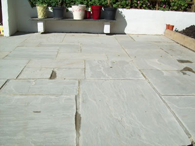 Indian Paving area