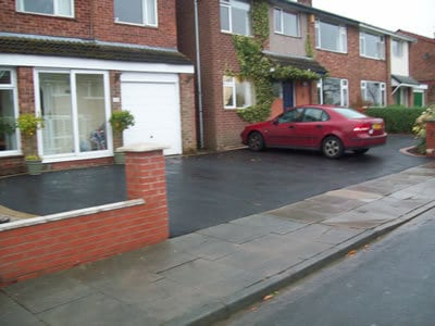 Extended Tarmac Driveway