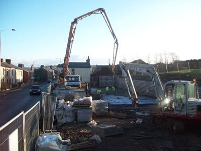 Nursing Home Building Site Groundworks