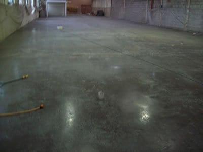 Industrial Unit Concrete Floor