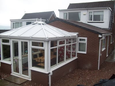 Single Storey House Extension using Existing Conservatory