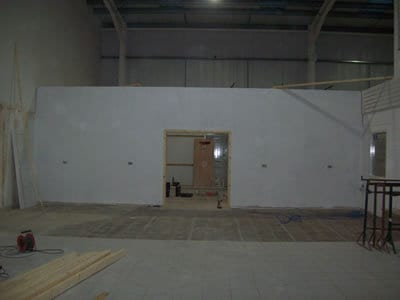 Office Fit Out in Industrial Unit