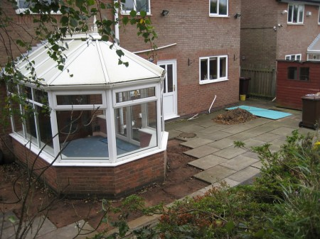 Conservatory to be replaced