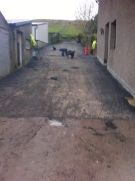 farmyard access road tarmac