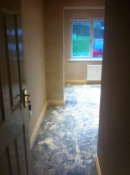 Sung Room Asphalt Floor