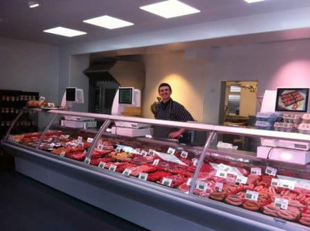 Heys Butchers Open Plan Shop