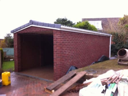 New Brick Garage Harle Syke
