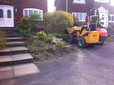Driveway extension - start