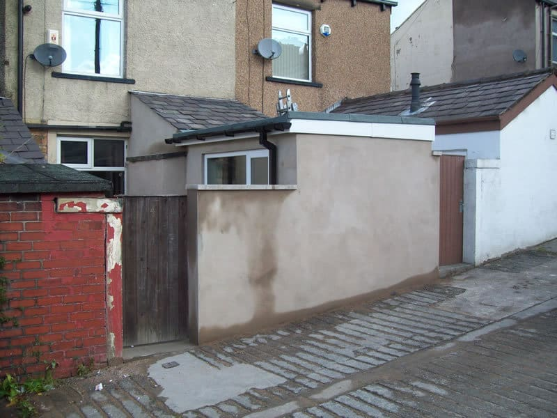 Kitchen extension to terraced house